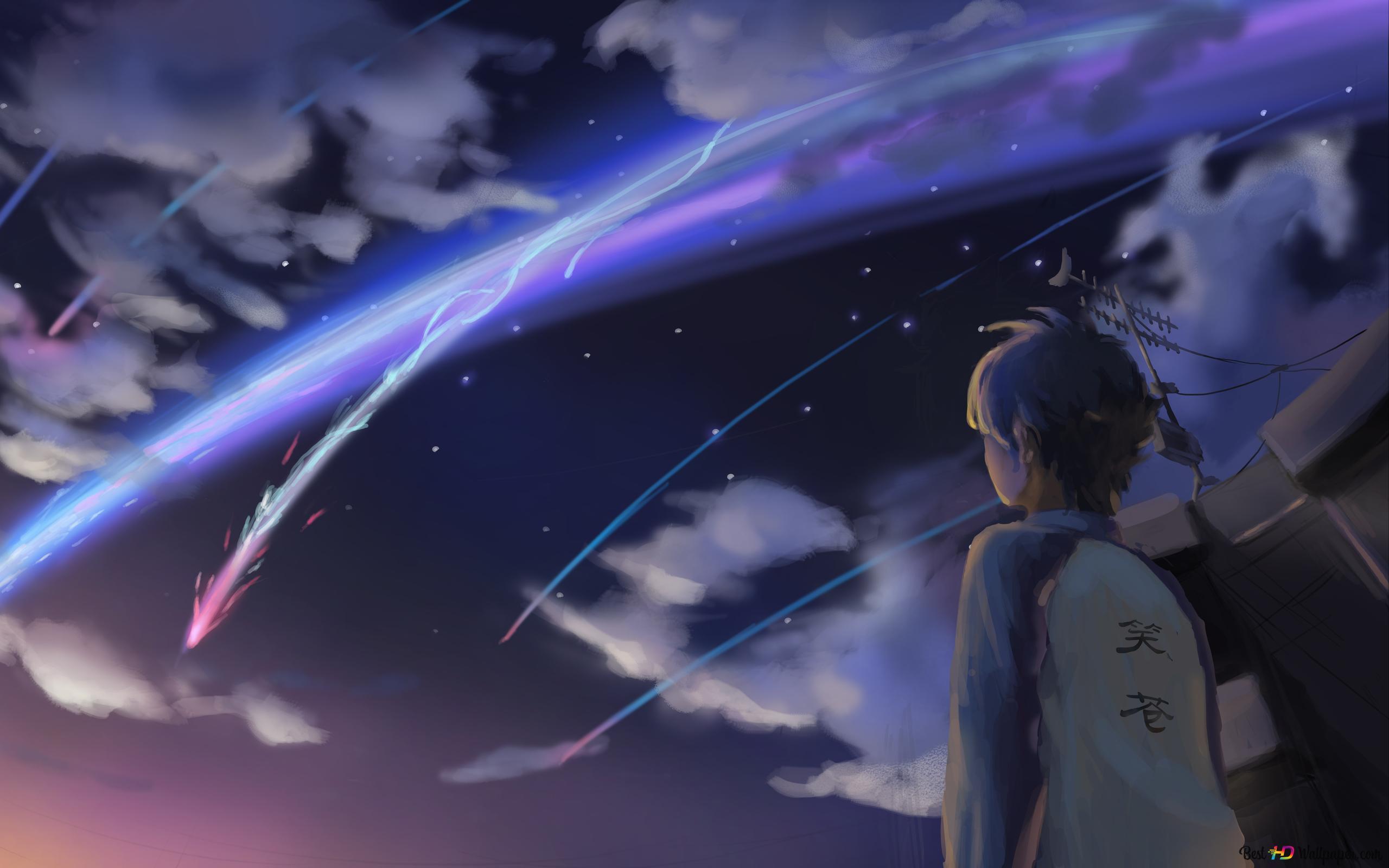 Your Name Taki Tachibana Hd Wallpaper Download