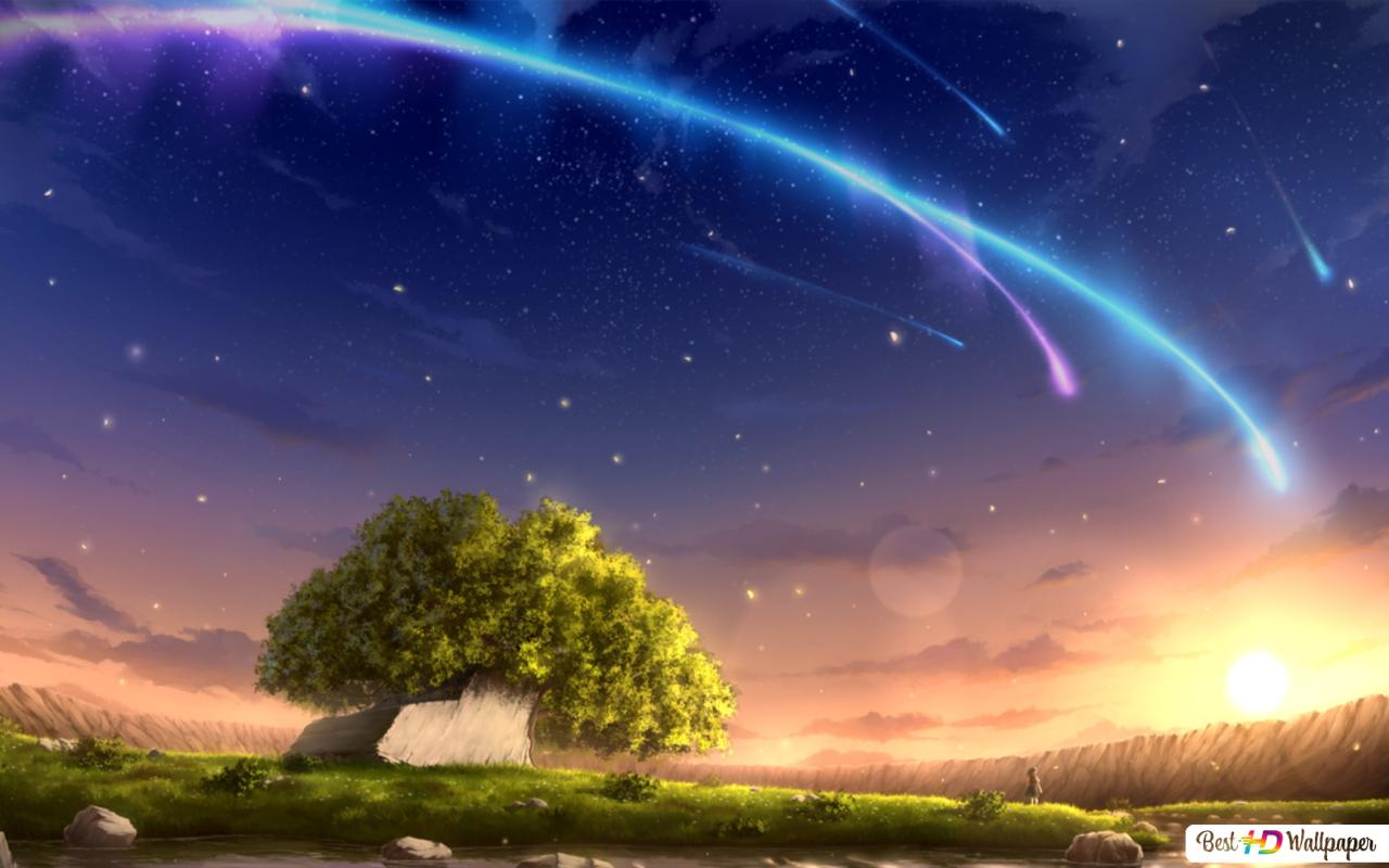 Your Name The Shrine Hd Wallpaper Download