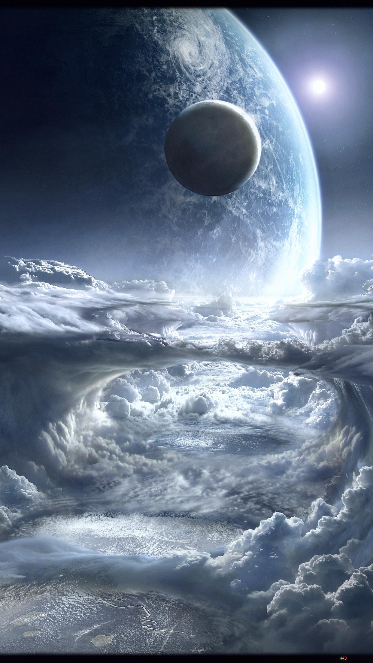 宇宙からの眺め Hd壁紙のダウンロード