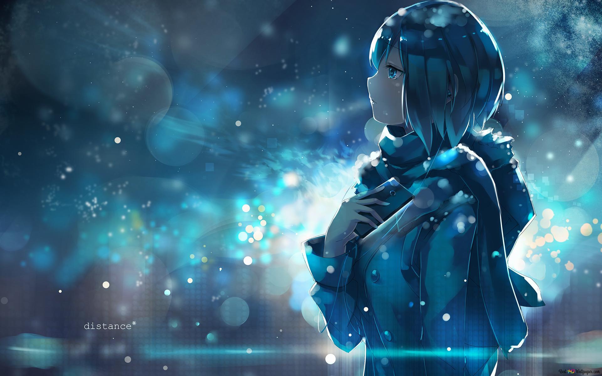 芸術アニメの女の子の背景 Hd壁紙のダウンロード