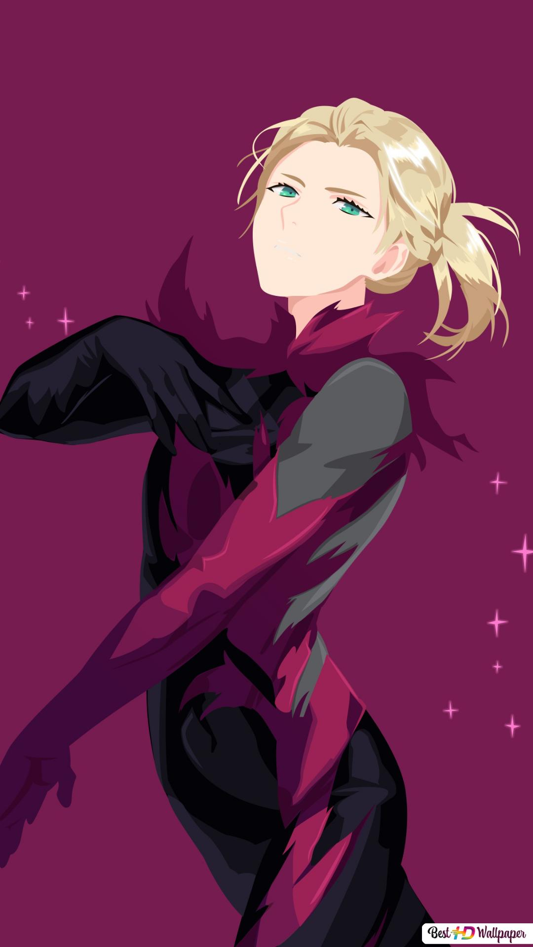 Yuri On Ice Yuri Plisetsky Vector Hd Wallpaper Download