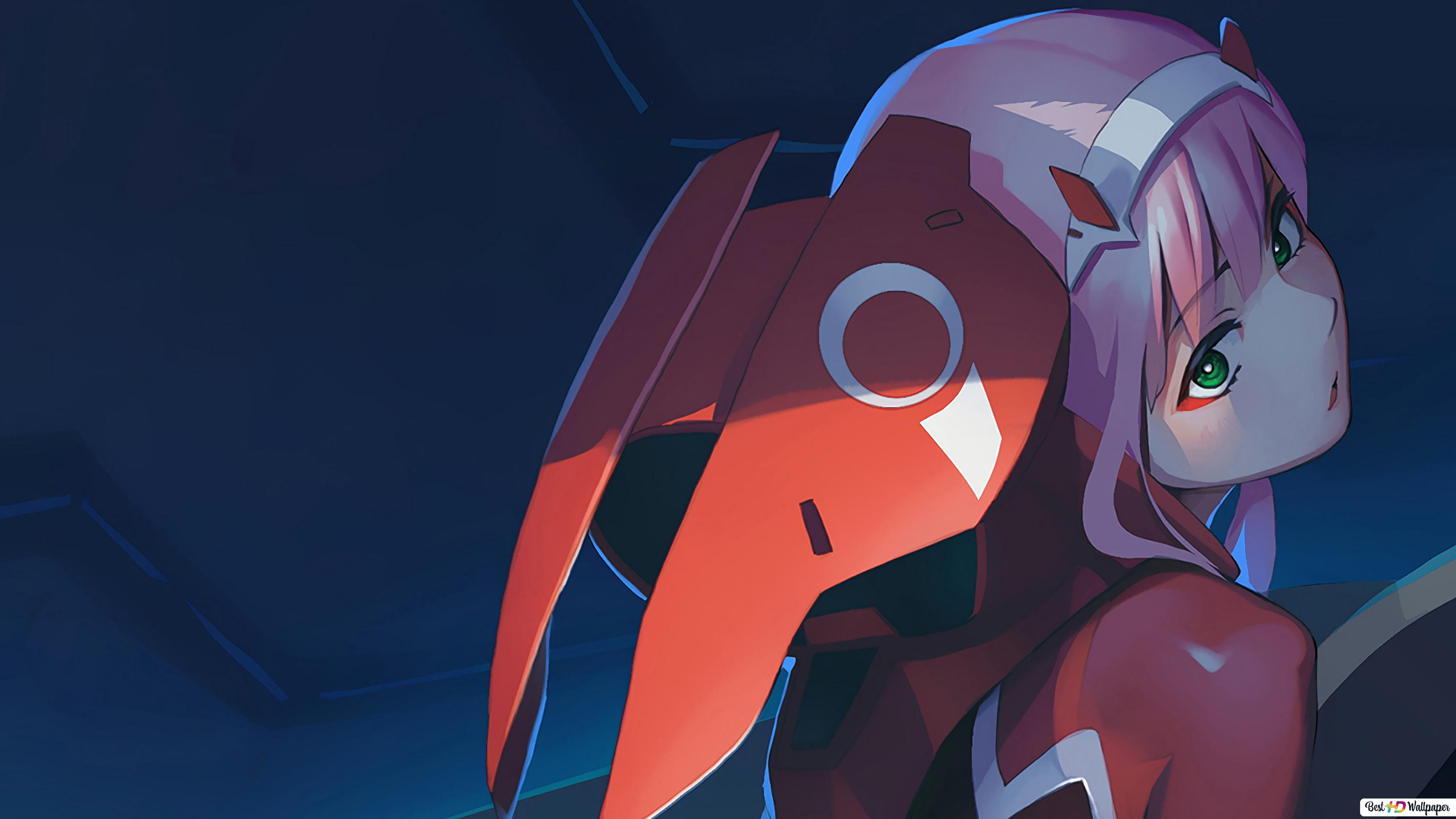 Zero Two Darling In The Franxx Hd Wallpaper Download
