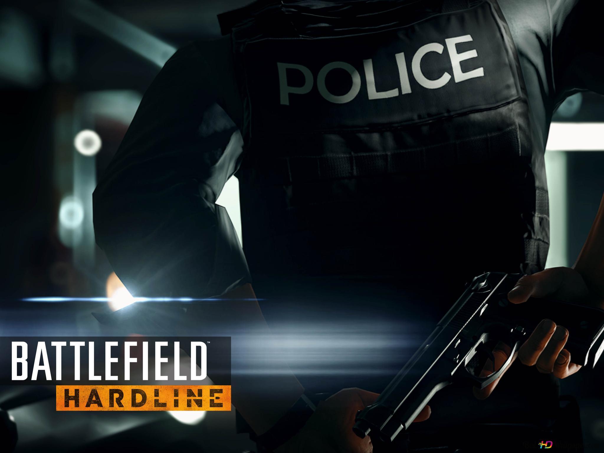 战场强硬 警察手枪高清壁纸下载