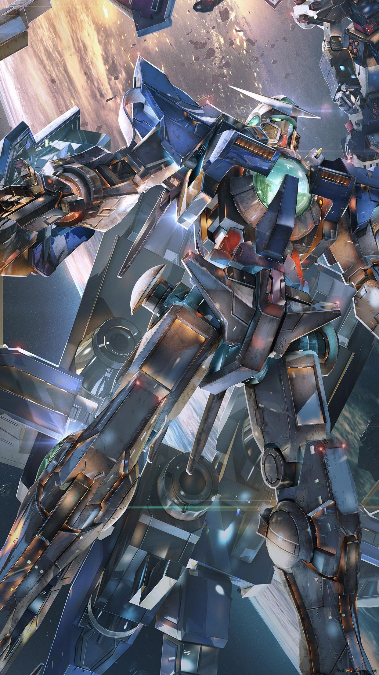 戦争ロボット バーサス機動戦士ガンダム Hd壁紙のダウンロード