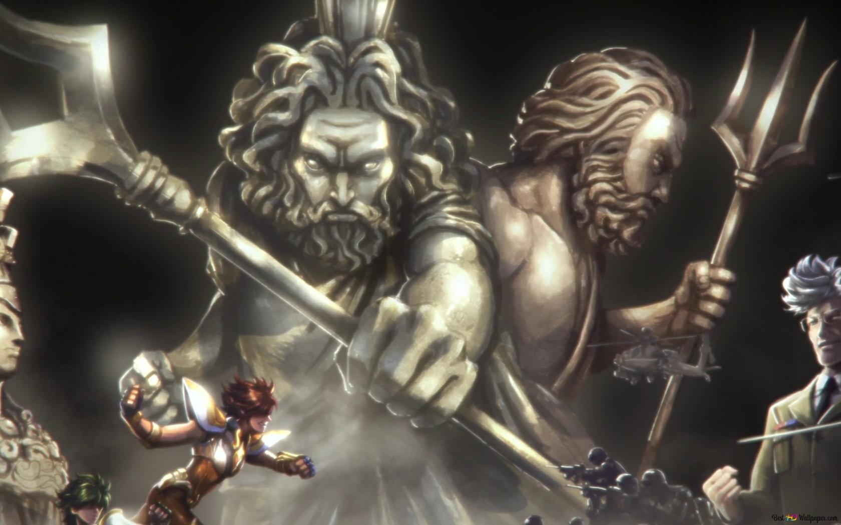 ゾディアックの騎士 聖闘士星矢 Hd壁紙のダウンロード