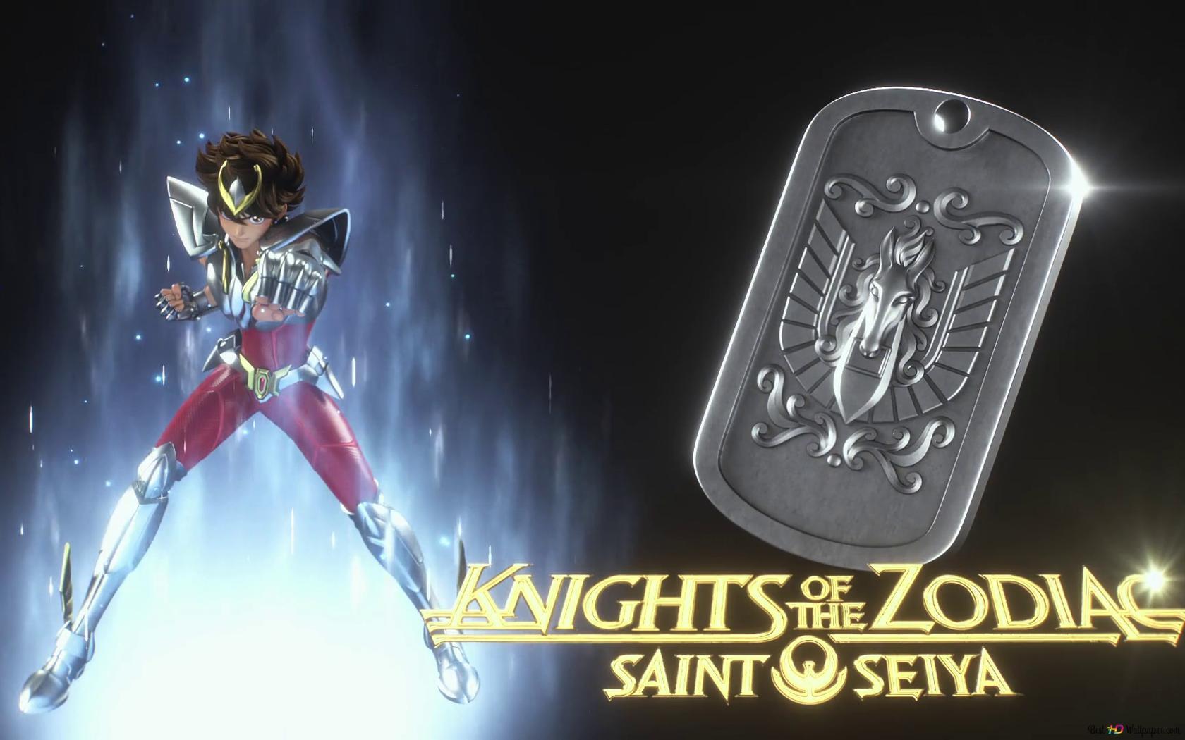 ゾディアックの騎士 聖闘士星矢 聖闘士星矢 Hd壁紙のダウンロード