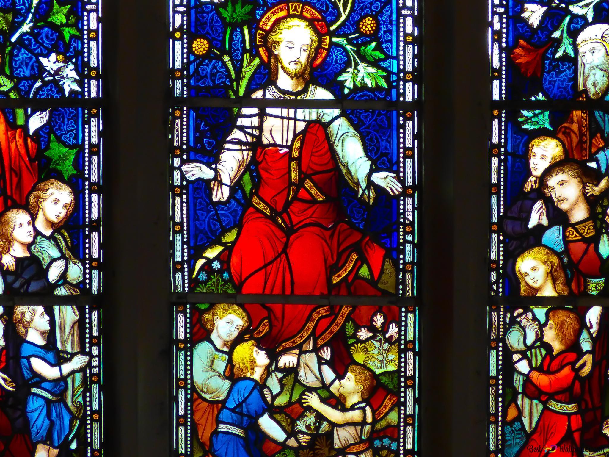 宗教 ステンドグラスの窓 Hd壁紙のダウンロード
