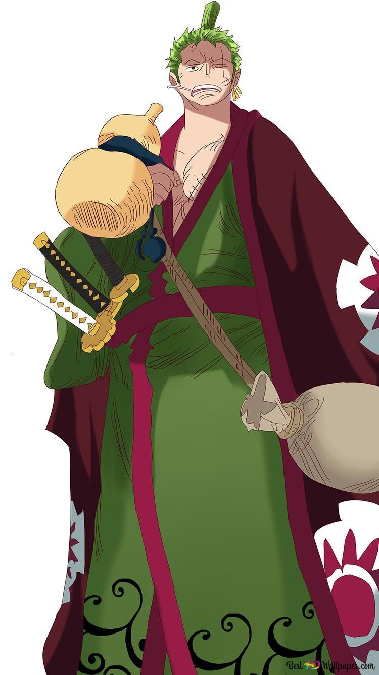 Zoro Roronoa One Piece Hd Hintergrundbilder Herunterladen